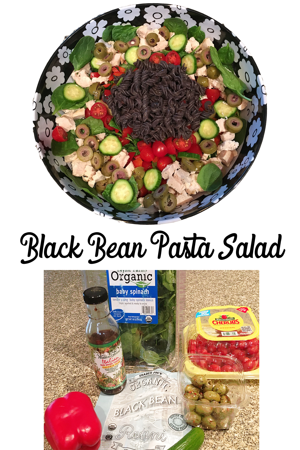Yummy Black Bean Pasta Salad